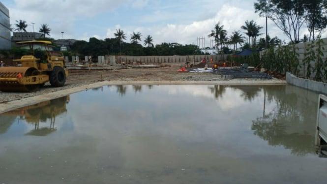 Proyek pembuatan beton readymix