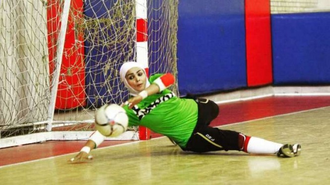 Pemain timnas futsal Iran, Elham Sheikhi