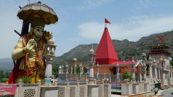 Kuil Hanoman di India