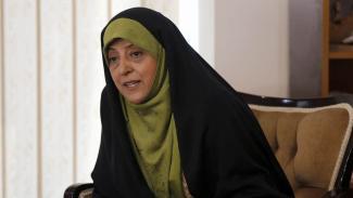 Wapres Iran Masoumeh Ebtekar