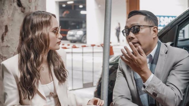 Cinta Laura dan Ridwan Kamil