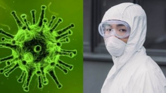 Virus Corona COVID-19.