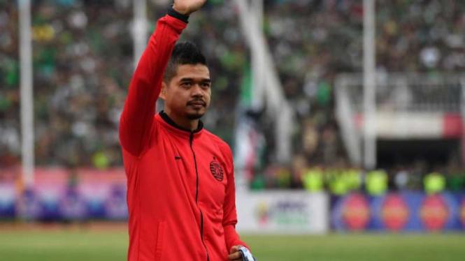 Manajer Persija Jakarta, Bambang Pamungkas.