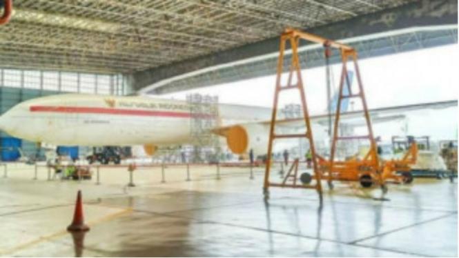 Beredar foto pesawat kepresidenan yang baru