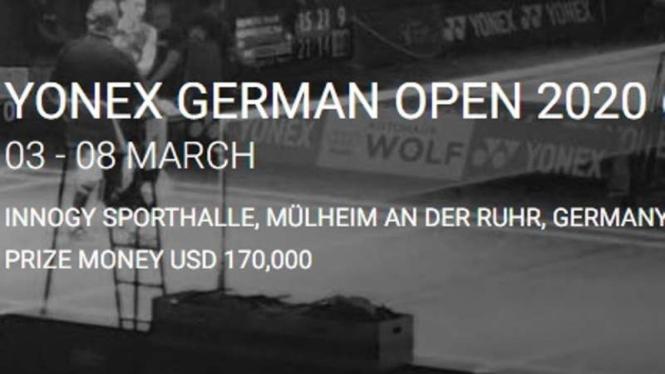 German Open 2020 batal.