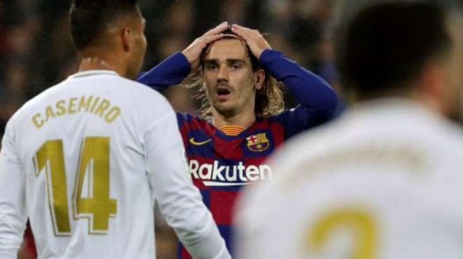 Striker Barcelona, Antoine Griezmann.