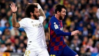 Duel Real Madrid vs Barcelona di LaLiga