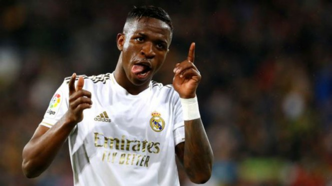 Winger muda Real Madrid, Vinicius Junior