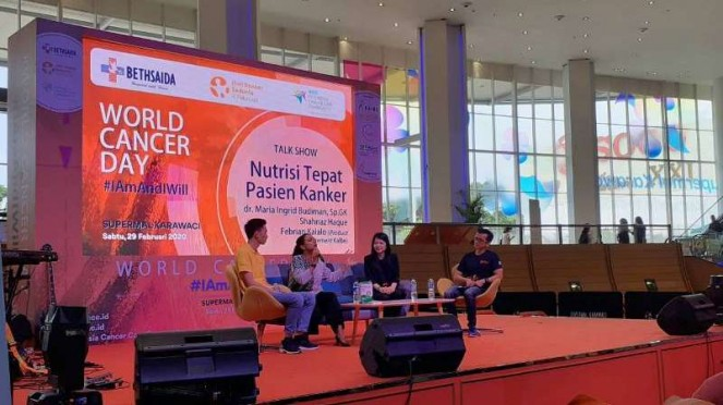 Talkshow Nutrisi Tepat Pasien Kanker