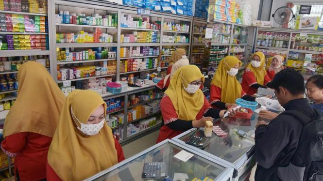 Antisipasi penyebaran Virus Corona di Indonesia.