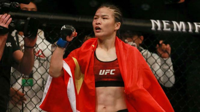 Juara kelas straw UFC, Zhang Weili