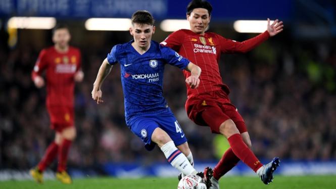 Pertandingan Chelsea vs Liverpool