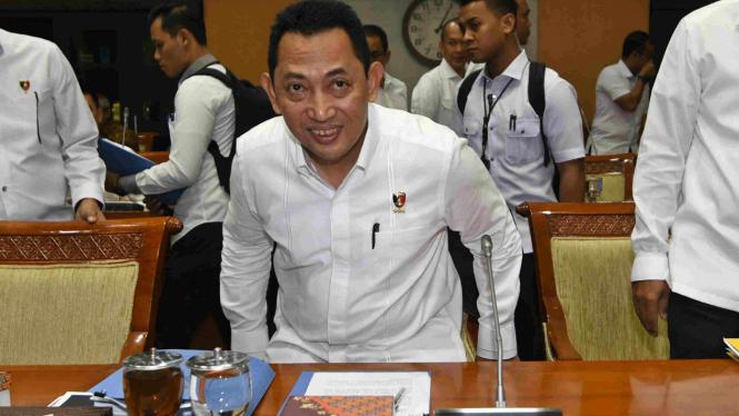 Kabareskrim Polri Komjen Pol Listyo Sigit Prabowo