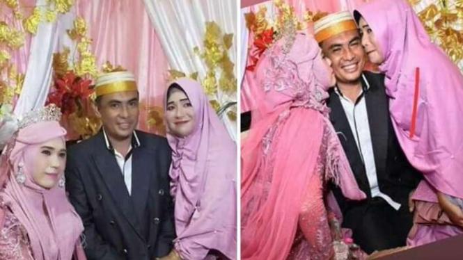 Hasil gambar untuk Viral, Istri Pertama di Sulsel Antar Suami Nikah Lagi