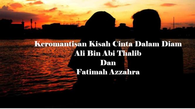 Kisah Keromantisan Ali Bin Abi Thalib Melamar Fatimah