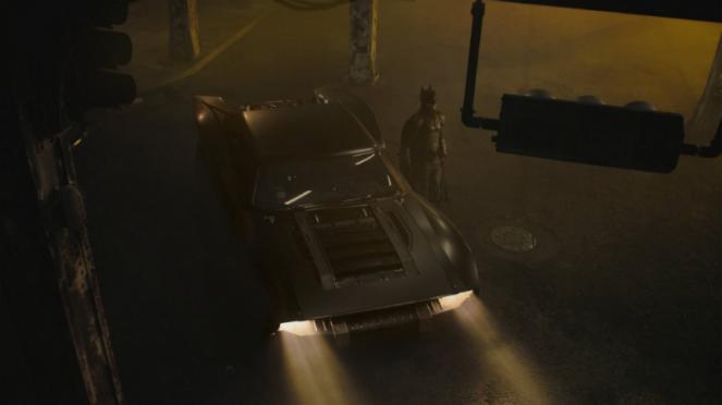 Batmobile di film The Batman.