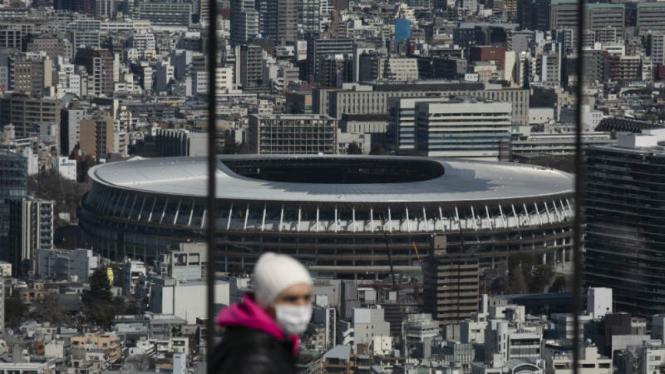 National Stadium Tokyo, tempat pembukaan Olimpiade 2020