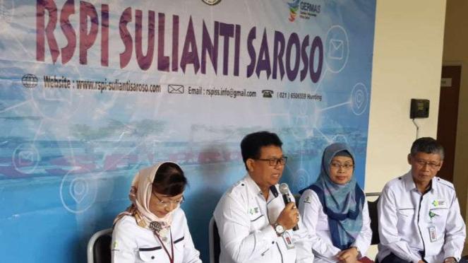 Direktur Utama RSPI Sulianti Saroso Mohammad Syahril.