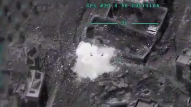 Ledakan rudal dari drone Tukir ke lokasi Mayjen Ramadan Yusuf.