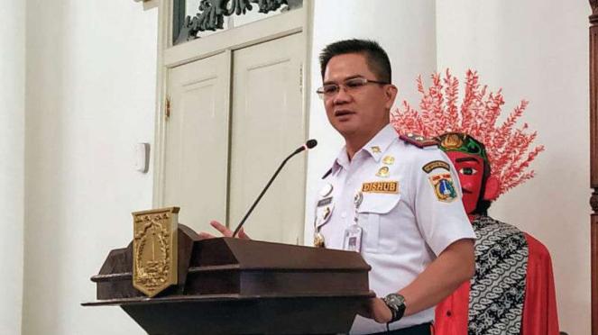 Kepala Dinas Perhubungan (Dishub) DKI Jakarta Syafrin Liputo.
