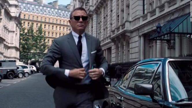 James Bond: No Time To Die.
