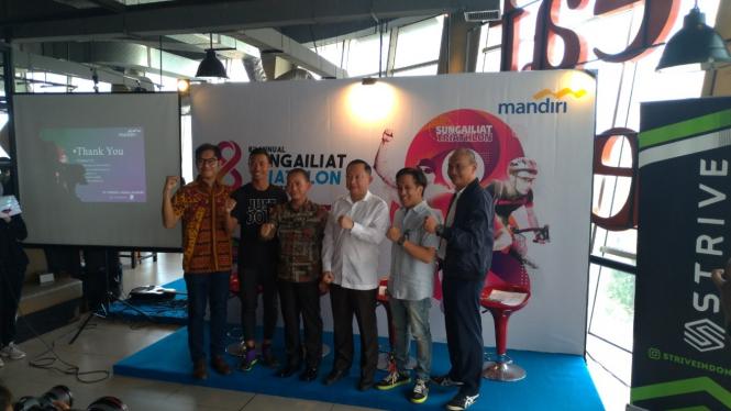 Event triathlon terbesar di Indonesia, Singailiat Triathlon, kembali digelar
