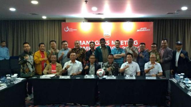 Managers Meeting Liga 2