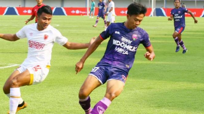 Duel Persita Tangerang vs PSM Makassar di Liga 1 2020.