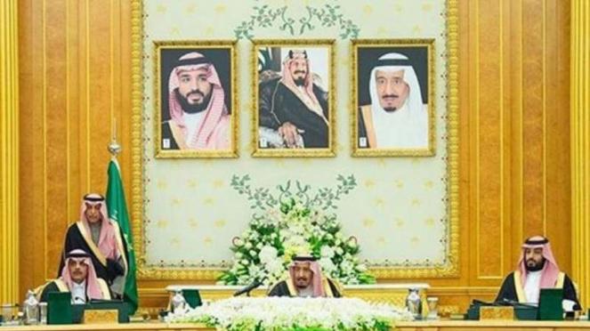 Raja Salman di Kerajaan Arab
