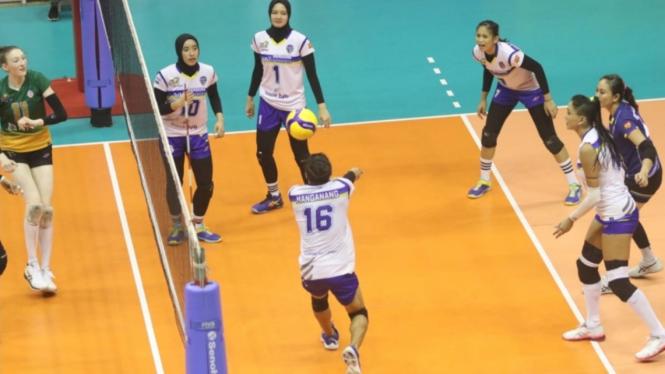 Tim voli putri, Bandung BJB
