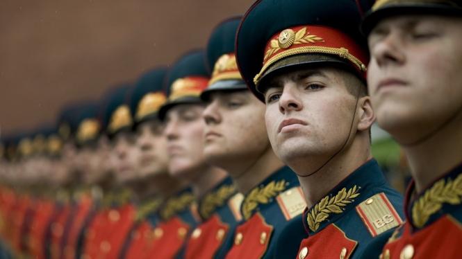 Militer Rusia.