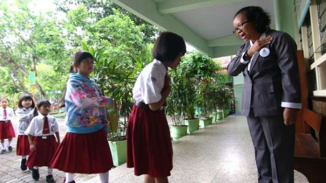 5 Jurus Anak-anak Sekolah Tangkal Virus Corona Covid-19