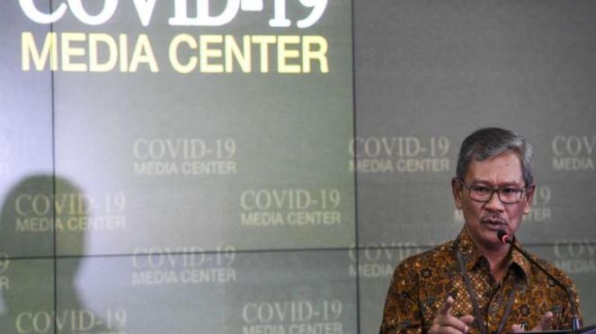 Juru Bicara  pemerintah untuk penanganan virus Corona Achmad Yurianto