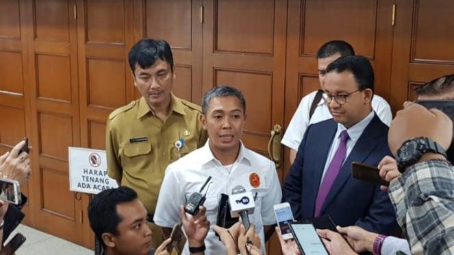 Ketua Umum Pengurus Golf Indonesia (PGI) DKI Jakarta, M Reza Ihsan Rajasa.