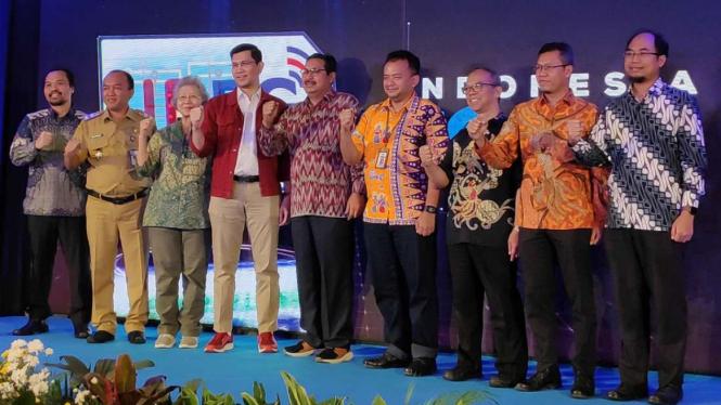 Indonesia 5G Ecosystem Conference 2020 di Jakarta, Selasa, 10 Maret 2020.