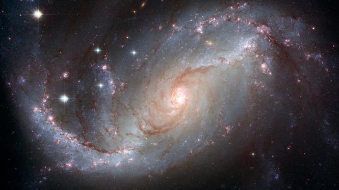 Galaksi Bima Sakti.