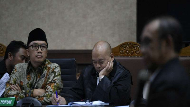 Terdakwa kasus suap dana hibah KONI Imam Nahrawi