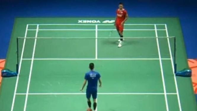 Jonatan Christie vs Lee Zii Jia.