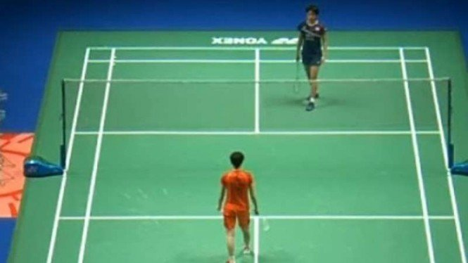 Duel Chen Yufei vs An Se Young di All England.