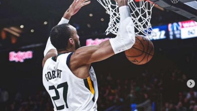 Pemain Utah Jazz, Rudy Gobert.