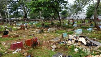 Viral Dangdutan di Kuburan Bikin Geger Warga Depok
