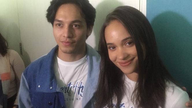Jefri Nichol dan Aurora Ribero