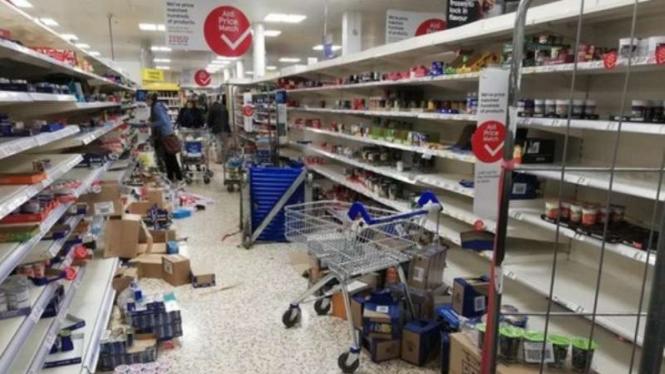 Panic buying di Inggris