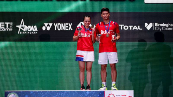 Praveen Jordan/Melati Daeva Oktavianti juara All England 2020