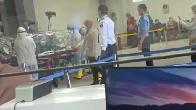 Satu Penumpang dari Malaysia Dilarikan ke RSUP M Djamil Padang