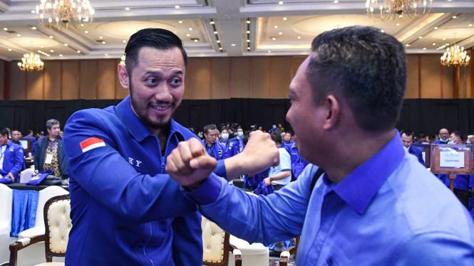 Agus Harimurti Yudhoyono (AHY) Terpilih Menjadi Ketum Partai Demokrat