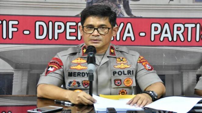 Kapolda Sulawesi Tenggara Brigadir Jenderal Polisi Merdysam