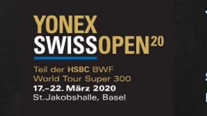 Swiss Open salah satu turnamen BWF yang ditunda karena Covid-19.
