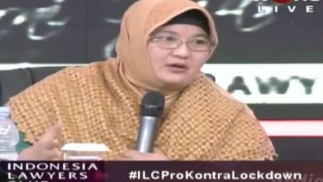 Dr Erlina Burhan, spesialis paru-paru di RS Persahabatan Jakarta
