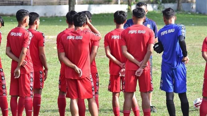 Latihan PSPS Riau